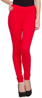 Family Bazaar Women's Red Leggings