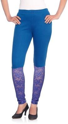 Vanita Women's Blue Leggings
