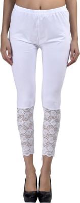 Visach Women's White Leggings