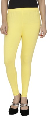 Anekaant Girl's Yellow Leggings