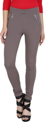 Svt Ada Collections Women's Grey Jeggings