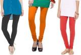 Madona Women's Multicolor Leggings (Pack...