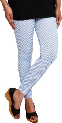 Fine Colors Women's Blue, White Leggings