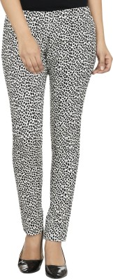 Fashion Cult Women's Black, White Jeggings