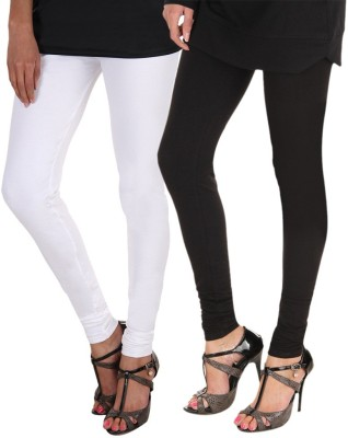 Roy Womens Maternity Wear Black, White Leggings