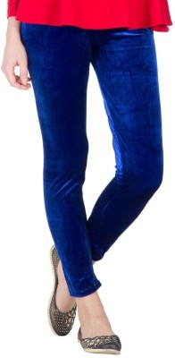 Back The Collection Women's Blue Leggings