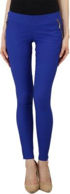 Ansh Fashion Wear Women's Blue Jeggings