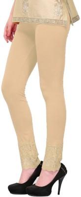 MDS Jeans Women's Beige Leggings