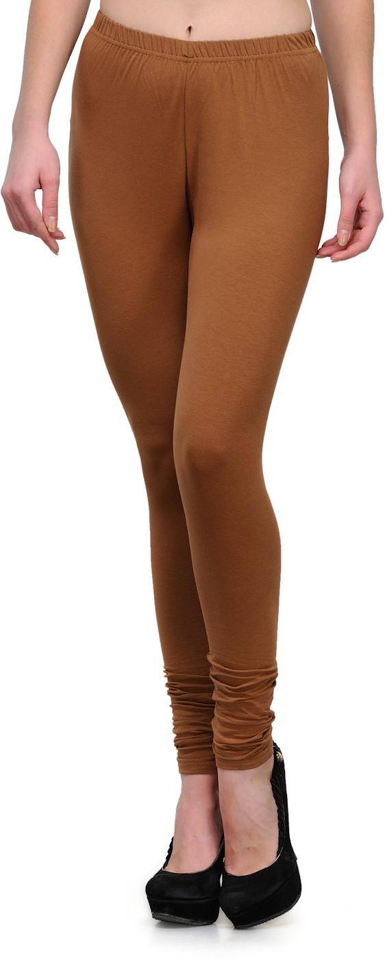 Ffu Womens Brown Leggings