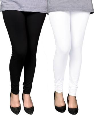 PAMO Women,s Black, White Leggings