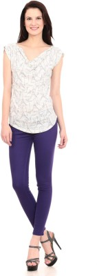 X-POZ Women's Purple Jeggings