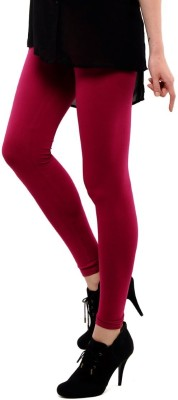 Femmora Women's Maroon Leggings