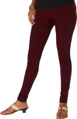 Yaari Women's Maroon Leggings
