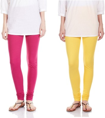 SRS Women's Pink, Yellow Leggings