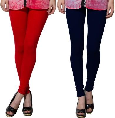 Both11 Women's Dark Blue, Red Leggings