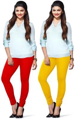 Amul Florio Women's Red, Yellow Leggings