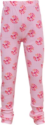 Bodymate Baby Girl's Multicolor Leggings