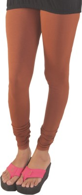 Lequeens Women's Brown Leggings