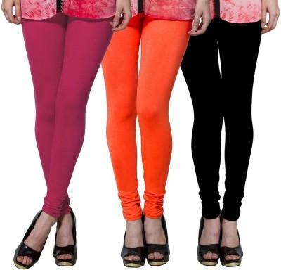Both11 Women's Pink, Orange, Black Leggings
