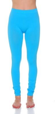 Tejshree Women's Light Blue Leggings