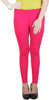 Zrestha Women's Pink Jeggings
