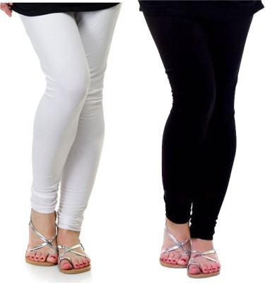 Archway Women's White, Black Leggings