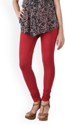 Shree Ji Enterprises Women's Red Leggings