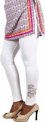 Ankita Women's White Leggings
