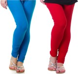 Archway Women's Blue, Red Leggings (Pack...