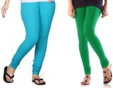 StudioRavel Women's Blue, Green Leggings...
