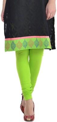Blue Junction Women's Green Leggings