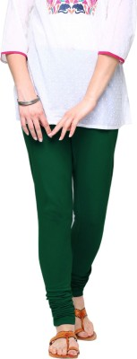 Triveni Women's Green Leggings