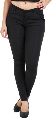 Prnas Women's Black Jeggings