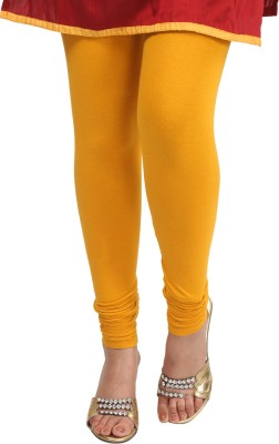 Sohniye Women's Yellow Leggings