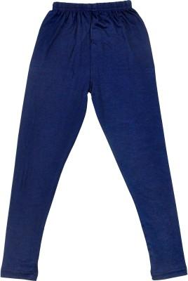 Perky Girl's Dark Blue Leggings