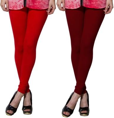 Both11 Women's Maroon, Red Leggings