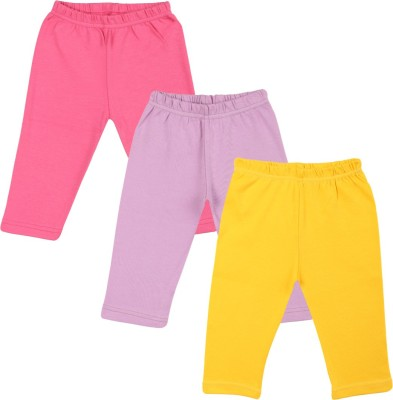 Color Fly Baby Girls Pink, Purple, White Leggings
