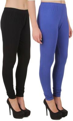 Stylishbae Women's Black, Blue Leggings