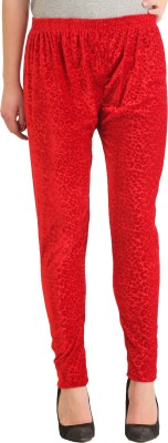 Gudluk Women's Red Leggings