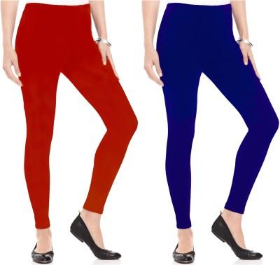 Kamuk Life Women's Red, Blue Leggings