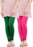 WellFitLook Women's Green, Pink Leggings...