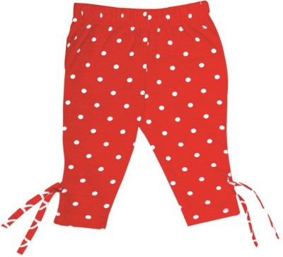 Always Kids Girl's Red Leggings