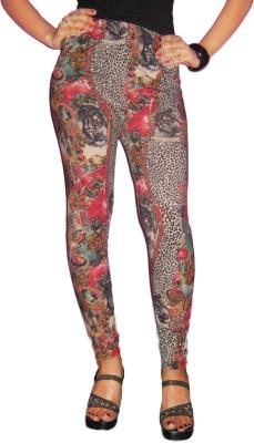 Barbarik Women's Multicolor Leggings