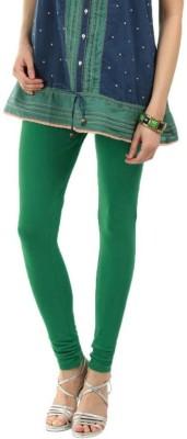 Rashi Women's Dark Green, White Leggings