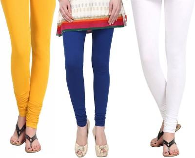 Vastra Buzz Women's Blue, Yellow, White Leggings