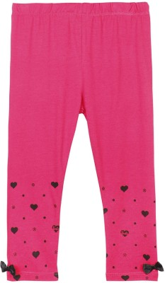 Barbie Baby Girl's Pink Leggings