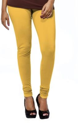 Deskjet Women's Yellow Leggings