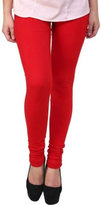 PF Colors Women's Red Leggings