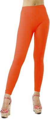 Paras ent Women's Orange Leggings