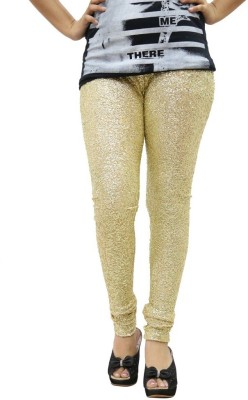 Fashion Kala Women's Gold Leggings